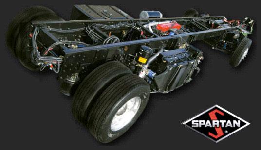 Spartan Mid Engine Chassis